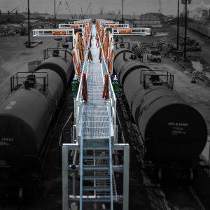 railcar loading platforms canada