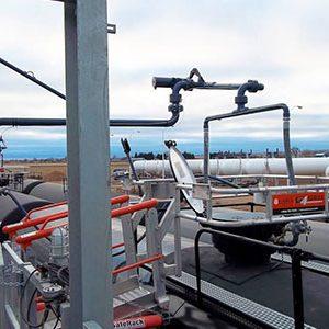 railcar loading arms canada